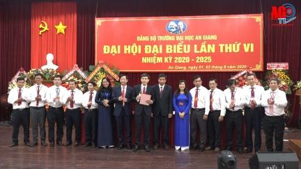 Đồng chí Trần Văn Đạt đắc cử Bí thư Đảng ủy Trường Đại học An Giang (nhiệm kỳ 2020 - 2025)