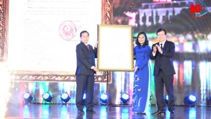Công bố Quyết định của Thủ tướng Chính phủ công nhận TP. Long Xuyên là đô thị loại I trực thuộc tỉnh An Giang