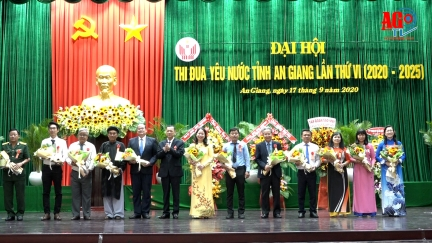 An Giang tổ chức Đại hội thi đua yêu nước lần thứ VI (2020 -2025)