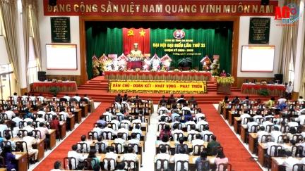 Đại hội đại biểu Đảng bộ tỉnh An Giang lần thứ XI (nhiệm kỳ 2020-2025) tiến hành phiên trù bị