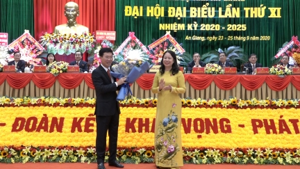 Toàn văn bài phát biểu chỉ đạo của đồng chí Võ Văn Thưởng tại Đại hội đại biểu Đảng bộ tỉnh An Giang lần thứ XI (nhiệm kỳ 2020-2025)