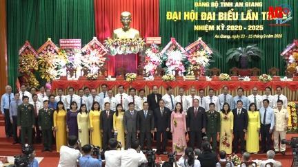 Đồng chí Võ Thị Ánh Xuân tái đắc cử chức danh Bí thư Tỉnh ủy An Giang, nhiệm kỳ 2020 -2025