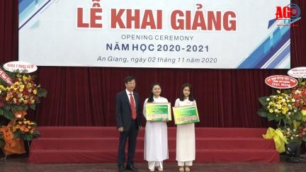 Trường Đại học An Giang khai giảng năm học 2020-2021
