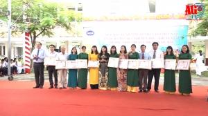 Trường THPT Chuyên Thoại Ngọc Hầu kỷ niệm ngày Nhà giáo Việt Nam và ra mắt quỹ Khuyến học - Khuyến tài