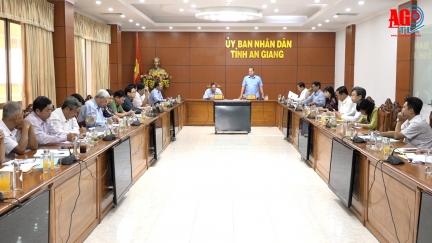 Họp bàn các nội dung liên quan công tác bầu cử đại biểu Quốc hội khóa XV và đại biểu HĐND các cấp
