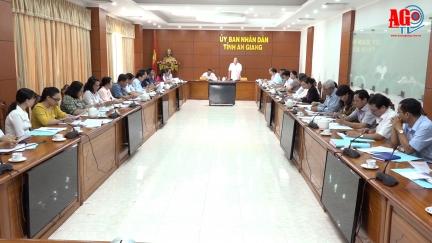 Ủy ban Bầu cử tỉnh An Giang tổ chức cuộc họp lần thứ 2