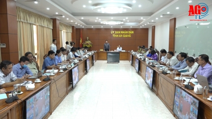 UBND tỉnh An Giang triển khai kế hoạch sản xuất vụ hè thu và công tác phòng, chống thiên tai, phòng cháy chữa cháy