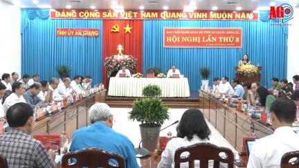 Ban Chấp hành Đảng bộ tỉnh An Giang khóa XI hội nghị lần 3