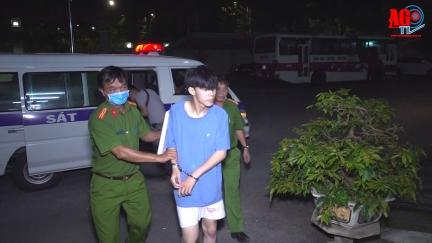 Công an An Giang phá nhanh vụ án giết người, cướp tài sản trong đêm ở TP. Châu Đốc