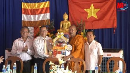 Phó Bí thư Thường trực Tỉnh ủy An Giang thăm, chúc Tết Chol Chnam Thmay đồng bào dân tộc thiểu số Khmer