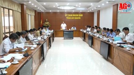 Ủy ban Bầu cử tỉnh An Giang tổ chức cuộc họp lần thứ 3