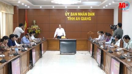 Chủ tịch UBND tỉnh Nguyễn Thanh Bình chỉ đạo sẵn sàng các biện pháp ứng phó dịch bệnh COVID-19