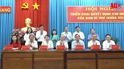 Tổng kết các chương trình phối hợp giữa Ban Tuyên giáo Tỉnh ủy An Giang với UBND tỉnh, UBMTTQ Việt Nam tỉnh và các tổ chức chính trị - xã hội cấp tỉnh giai đoạn 2019– 2024