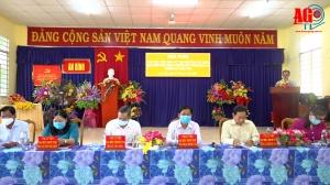 Ứng cử viên đại biểu HĐND tỉnh An Giang gặp gỡ, tiếp xúc cử tri huyện Thoại Sơn