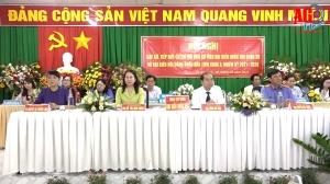 Hội nghị gặp gỡ, tiếp xúc cử tri với ứng cử viên đại biểu Quốc hội khóa XV và đại biểu HĐND tỉnh khóa X (nhiệm kỳ 2021-2026) tại Thoại Sơn