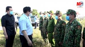 Thủ tướng Chính phủ biểu dương An Giang kiểm soát tốt tình hình biên giới, phòng, chống dịch bệnh COVID-19 hiệu quả