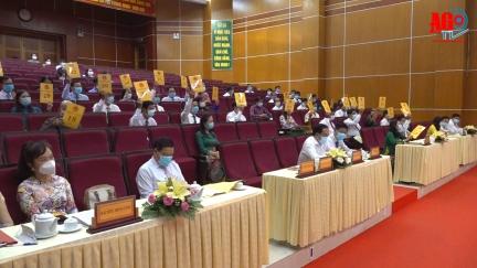 Kỳ họp lần thứ nhất HĐND TP. Long Xuyên khóa XII (nhiệm kỳ 2021-2026): Kiện toàn các chức danh lãnh đạo chủ chốt của HĐND và UBND thành phố