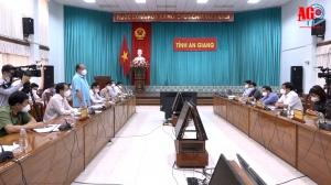 An Giang sẽ phối hợp tốt với Tổ công tác của Bộ Y tế trong thực hiện nhiệm vụ phòng, chống dịch COVID-19