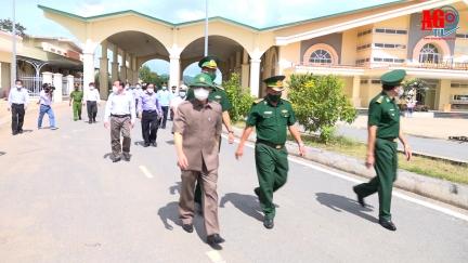 Bí thư Tỉnh ủy An Giang Lê Hồng Quang kiểm tra công tác phòng, chống dịch bệnh COVID-19 ở 2 huyện Tri Tôn và Tinh Biên