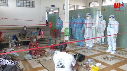 Phú Tân huy động tổng lực kiểm soát dịch COVID-19