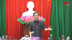 Bí thư Tỉnh ủy Lê Hồng Quang: An Giang nỗ lực kiểm soát dịch bệnh, sớm đưa cuộc sống người dân trở lại trạng thái bình thường mới