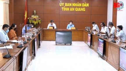 Chuẩn bị công tác xúc tiến đầu tư giữa UBND tỉnh An Giang với Thương vụ Hoa Kỳ