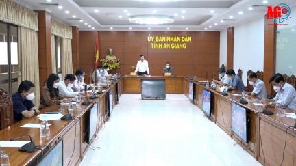 Công bố quyết định thành lập Ban Tổ chức tiếp nhận công dân An Giang từ các tỉnh, thành phố tự phát trở về địa phương
