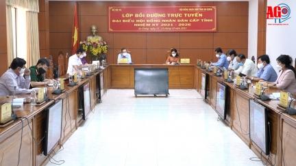 Bộ Nội vụ tổ chức bồi dưỡng trực tuyến cho đại biểu HĐND cấp tỉnh