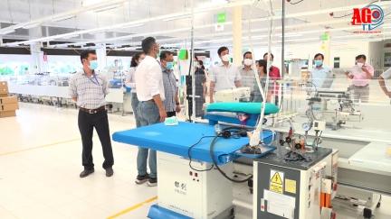 """Kiểm tra, đánh giá phương án tổ chức thực hiện sản xuất- kinh doanh phương châm """"4 Xanh"""" các doanh nghiệp tại Khu Công nghiệp Bình Hòa"""