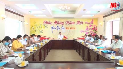 Thống nhất nội dung xây dựng kế hoạch tổ chức hoạt động kỷ niệm 190 năm thành lập tỉnh An Giang