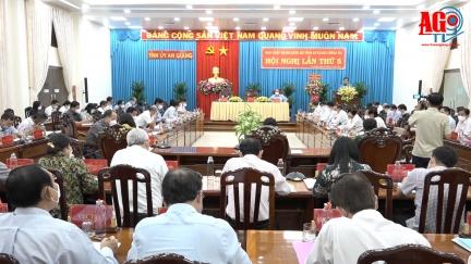 Hội nghị Ban Chấp hành Đảng bộ tỉnh An Giang (khóa XI) lần thứ 5
