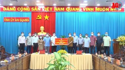 Đoàn công tác Tỉnh ủy Đồng Nai thăm và làm việc tại An Giang về công tác phòng, chống dịch bệnh COVID-19