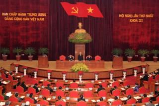 Ban Chấp hành Trung ương khóa XI họp phiên thứ nhất