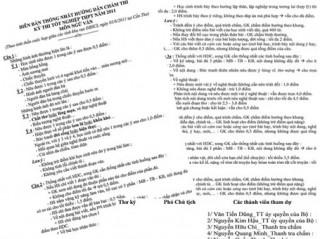 """""""Xì-căng-đan"""" chấm thi tốt nghiệp ở ĐBSCL: Thỏa thuận để cho điểm vô tư!"""