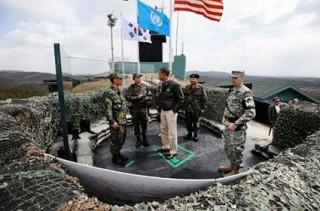 Tổng thống Mỹ thăm Khu phi quân sự giữa hai miền Triều Tiên