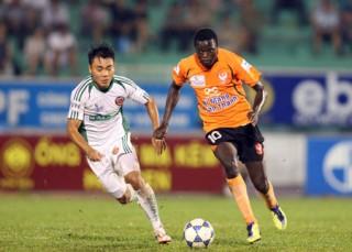 Vòng 15 V-League 2012: Văn Quyến xuất hiện, Sài Gòn XT vẫn không thể thắng