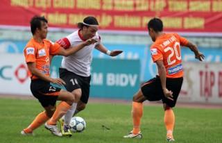 Vòng 16 V-League 2012: Giới hạn cho Văn Sỹ, Sài Gòn XT trở lại mạch thắng?