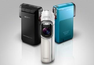 Máy quay bỏ túi HD chống nước đầu tiên của Sony