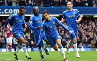 23h00 ngày 17/3, sân Stamford Bridge (lượt đi 1-3): Chelsea 2-0 West Ham: Thắng thuyết phục, The Blues đòi lại hạng 3 từ tay Tottenham