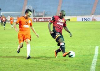 """SHB Đà Nẵng thua Kelantan tại sân Chi Lăng: """"Lửa tắt"""""""