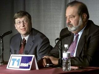 """<font size=""""2"""">Lần đầu tiên sau 4 năm nhà, sáng lập ra hãng phần  mềm lớn nhất thế giới Microsoft đã """"thế ngôi"""" nhà tỷ phú trong lĩnh vực  viễn thông Carlos Slim để trở thành người đàn ông giàu nhất hành tinh.</font>"""