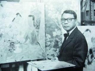 """<font size=""""2"""">Tranh của họa sĩ Lê Phổ (1907-2001)</font>"""