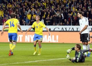 Thụy Điển 3-5 Đức: Khi tinh thần Đức chỉ còn trong bảo tàng