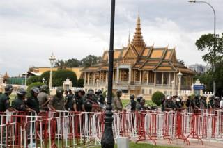 Đảng đối lập Campuchia bắt đầu cuộc biểu tình 3 ngày