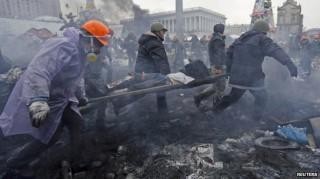 Biểu tình Ukraine 77 người thiệt mạng