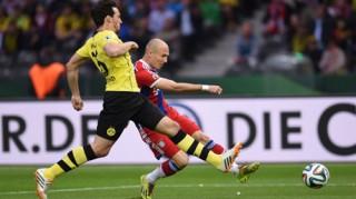 Tranh cãi nổ ra khi Bayern giành Cúp quốc gia Đức