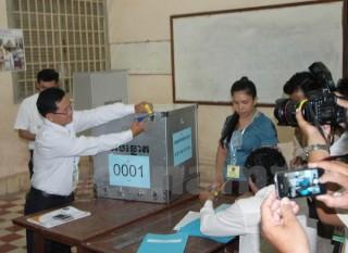 Campuchia: Bầu cử Hội đồng quận, huyện và tỉnh, thành phố
