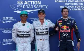 Rosberg dính nghi án chơi xấu đồng đội để giành pole
