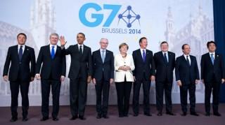 Bế mạc Hội nghị thượng đỉnh G7, nóng vấn đề Ukraine