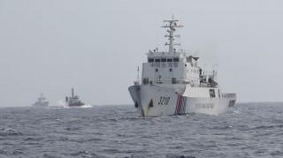 Tàu cảnh sát biển 8003 bị tàu từng tuần tra chung truy cản quyết liệt